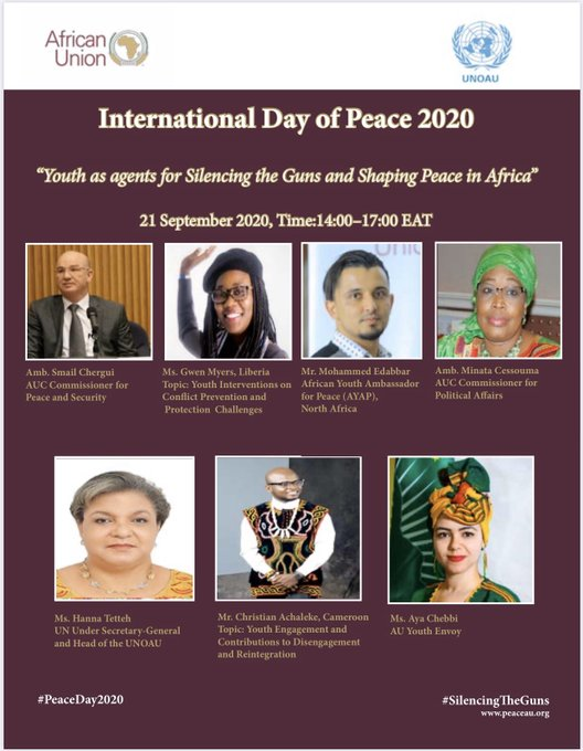 Commemoration of the International Day of Peace: 21 September 2020